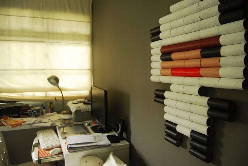 วิธีทำ ,ของเล่นเด็ก,ของแต่งห้อง,กระดาษทิชชู การ์ตูน,กระดาษชำระ