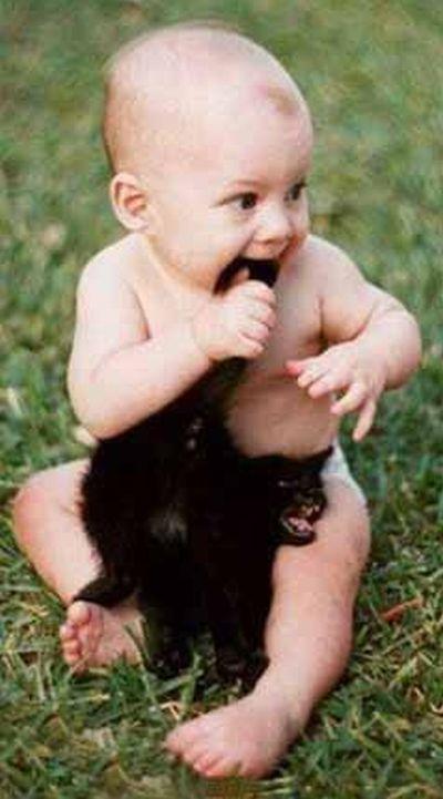 หมาน่ารัก,เด็กน่ารัก
