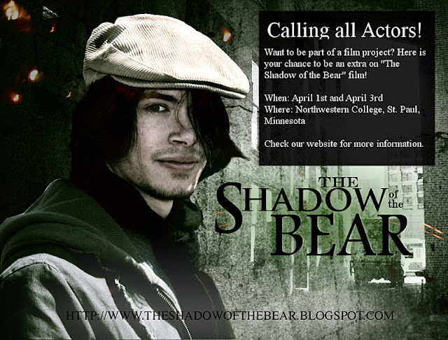 Film Extras Needed for The Shadow of the Bear Movie