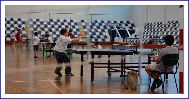 Torneio de Ping-Pong realizado no Pavilhão Municipal de Vendas Novas, no dia 23.Junho.2007