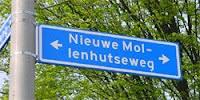 Nieuwe Mollenhutseweg in Nijmegen