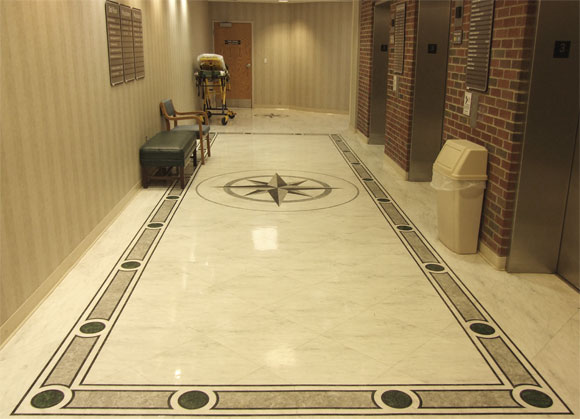 Beautiful designs of marble flooring for Modern flooring ideas