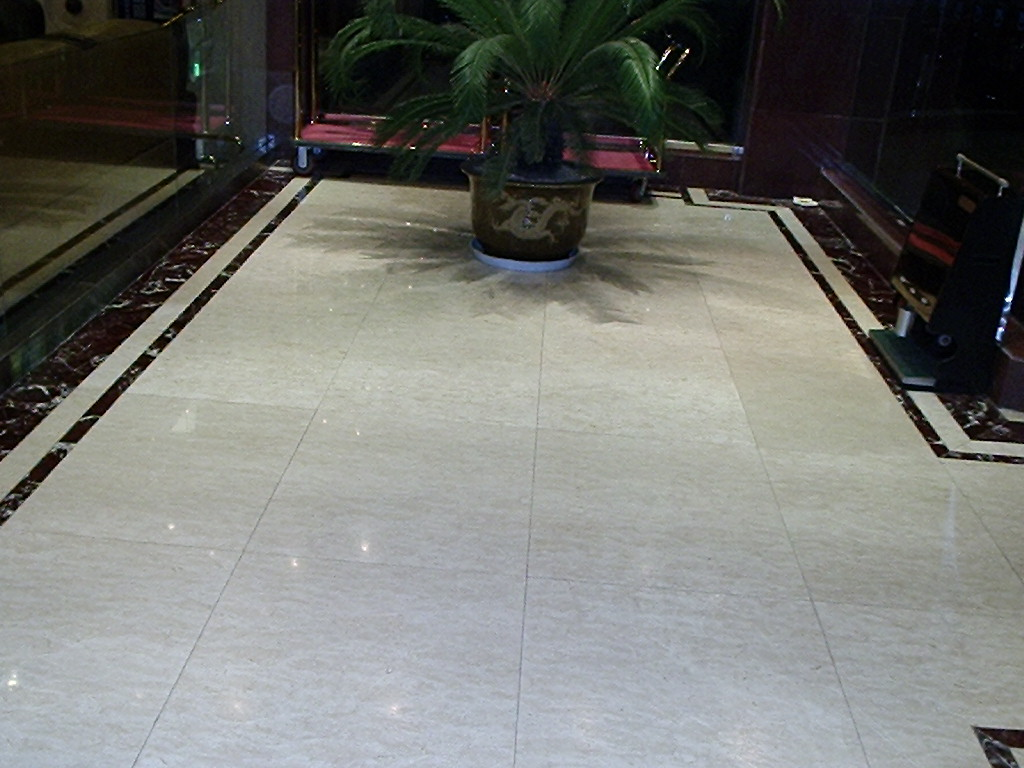 See more beautiful marble flooring designs everyday...