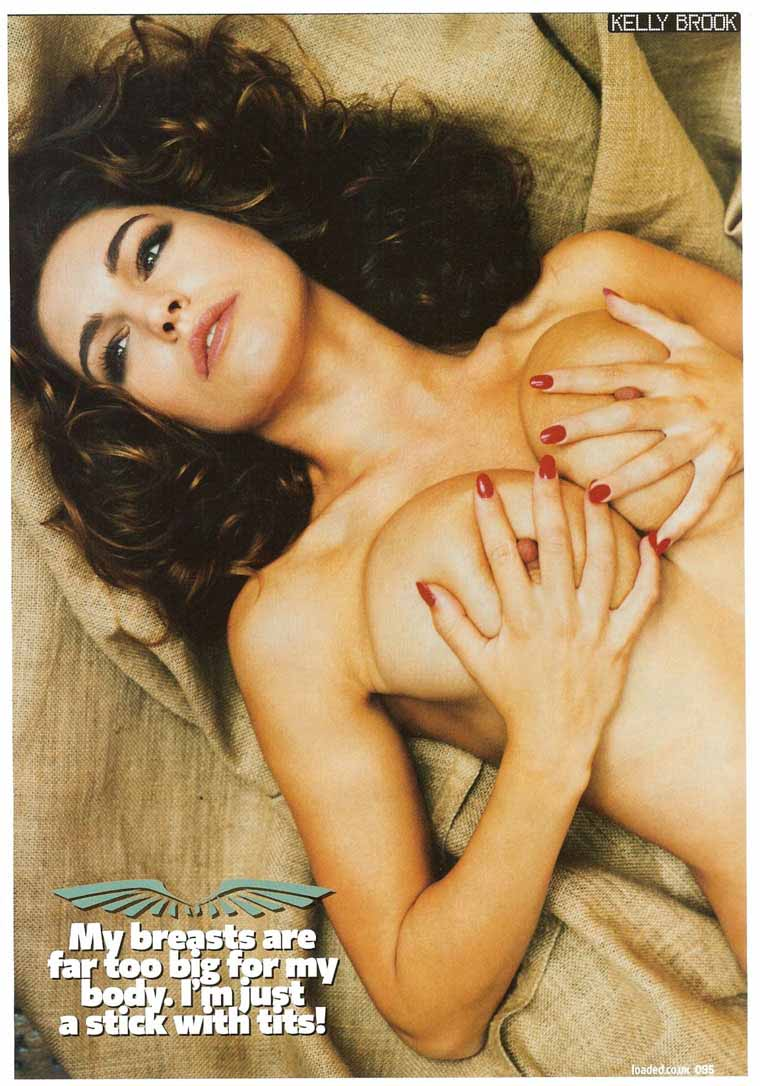 kelly brook topless uncensored 06 FM MODEL AGENCY: January 2012