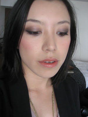 smokey face of the night with smashbox minx eyeshadow