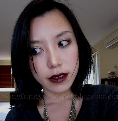 Chanel Rouge Coco in rouge noir face of the day