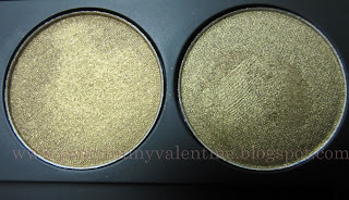 Inglot eye shadows Shine 49, Pearl 433