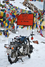 Khardung la one of the world&#39;s highest motorable passes.
