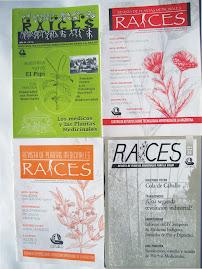 Revista RAICES, plantas medicinales, agroecología, soberanía alimentaría  y otros temas...