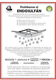 CAMPAÑA: PROHIBAMOS EL ENDOSULFÁN
