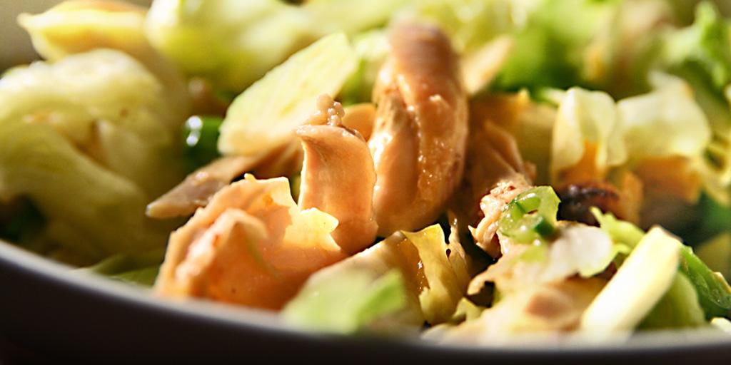 Салат из курицы (быстрый)
