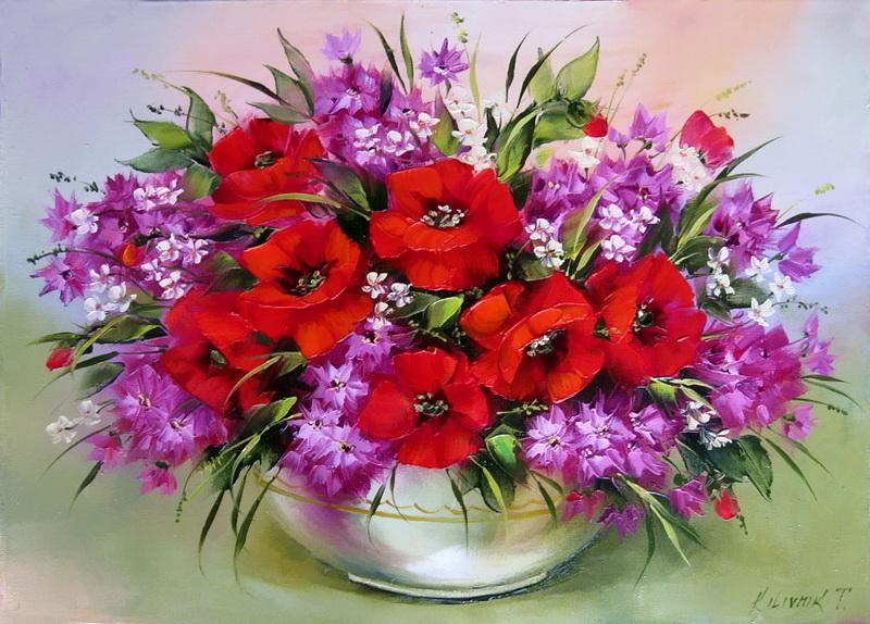 Открытки с днём рождения цветы ромашки