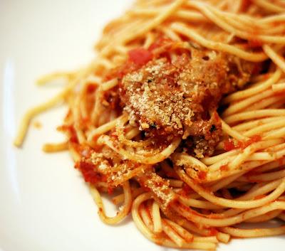 simple baked spaghetti