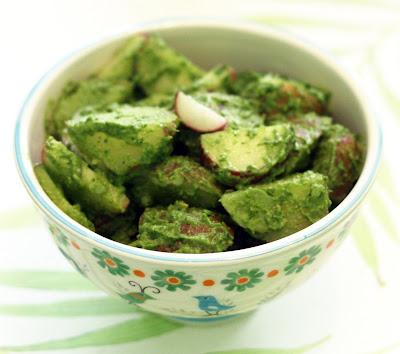 Amp lime recipes by rachel rappaport radish pesto potato salad