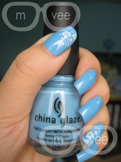china glaze bahamian escape swatch @ milan and vanaily