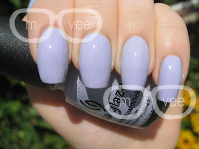 China Glaze Agent Lavender swatch