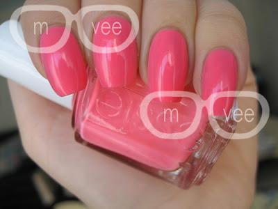 Essie neon pink