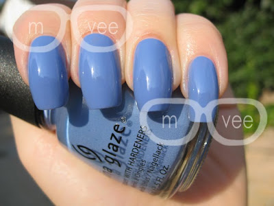 China Glaze: Secret Peri-wink-le