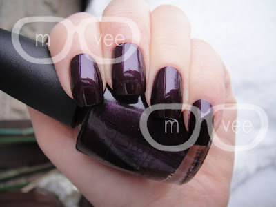 OPI Lincoln park after midnight swatch