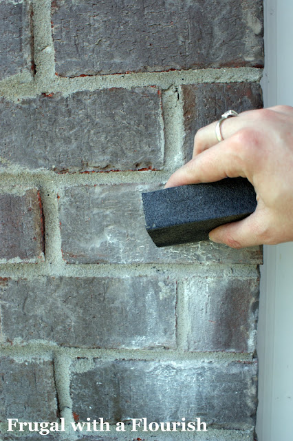 how to get paint off brick