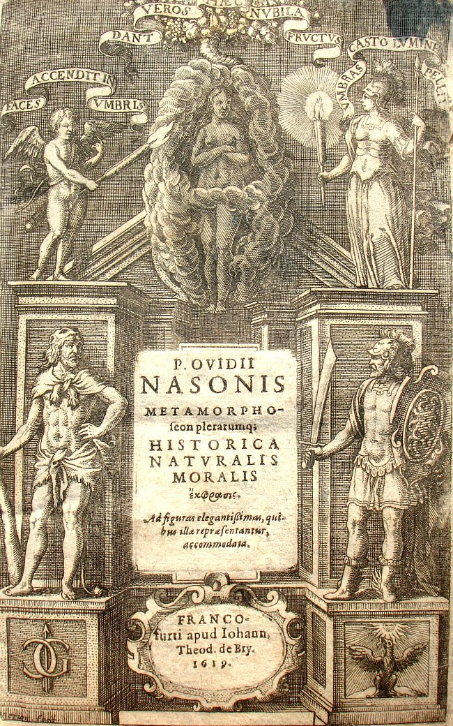 Edicin ilustrada de Ovidio de Matthaeus Merian  (1593-1650), Frankfurt 1619