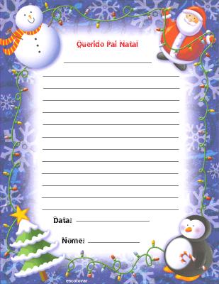 imagens para colorir do pai natal - Natal todos os dias Desenhos de Natal para Colorir