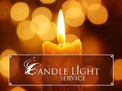The Gbf Blog Christmas Eve Candle Light Service And