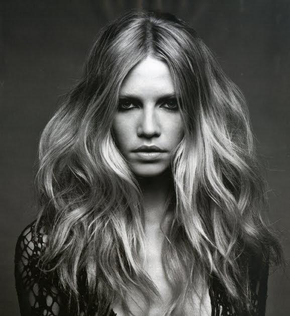 Hairstyles Art German Vogue May 2010 editorial Aline