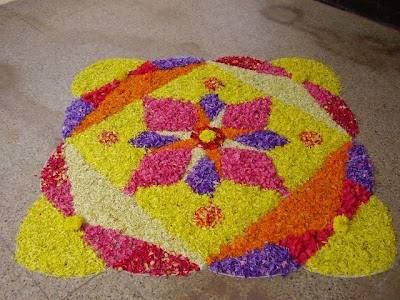Latest Rangoli Designs Flower Patterns Myspace Hi5