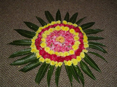 Indian Rangoli Designs Flower Patterns Myspace Hi5