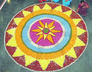 Traditional Rangoli Designs Flower Patterns Myspace Hi5