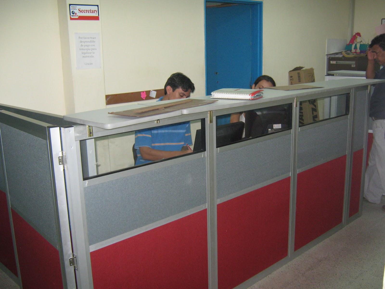 Aluminio y espacios del huila s a s aluminios y espacios for Muebles de oficina neiva