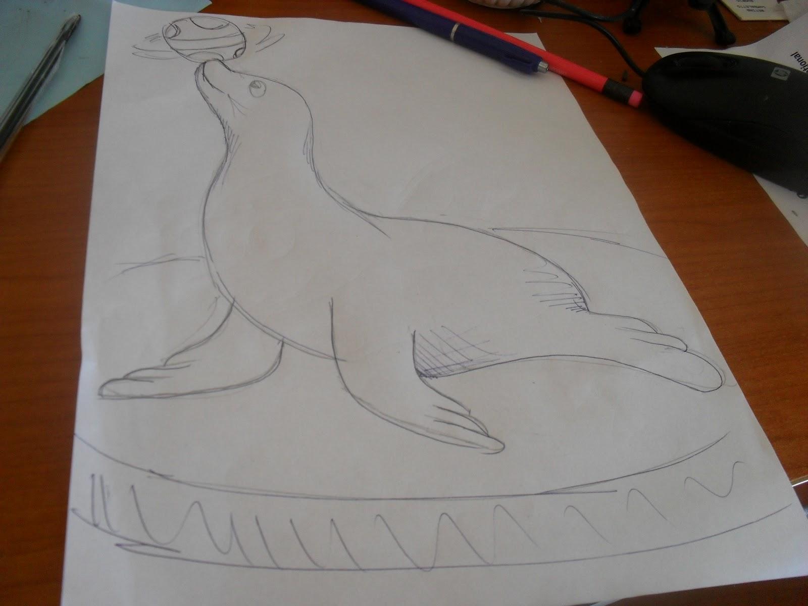 Il libro polare for Disegno pinguino colorato