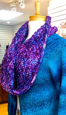 CHUNKY PATTERN SCARF YARN ? CROCHET, SEWING, QUILT PATTERNS