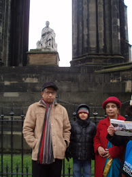 Near Scott Monument,Waveley,Edinburgh