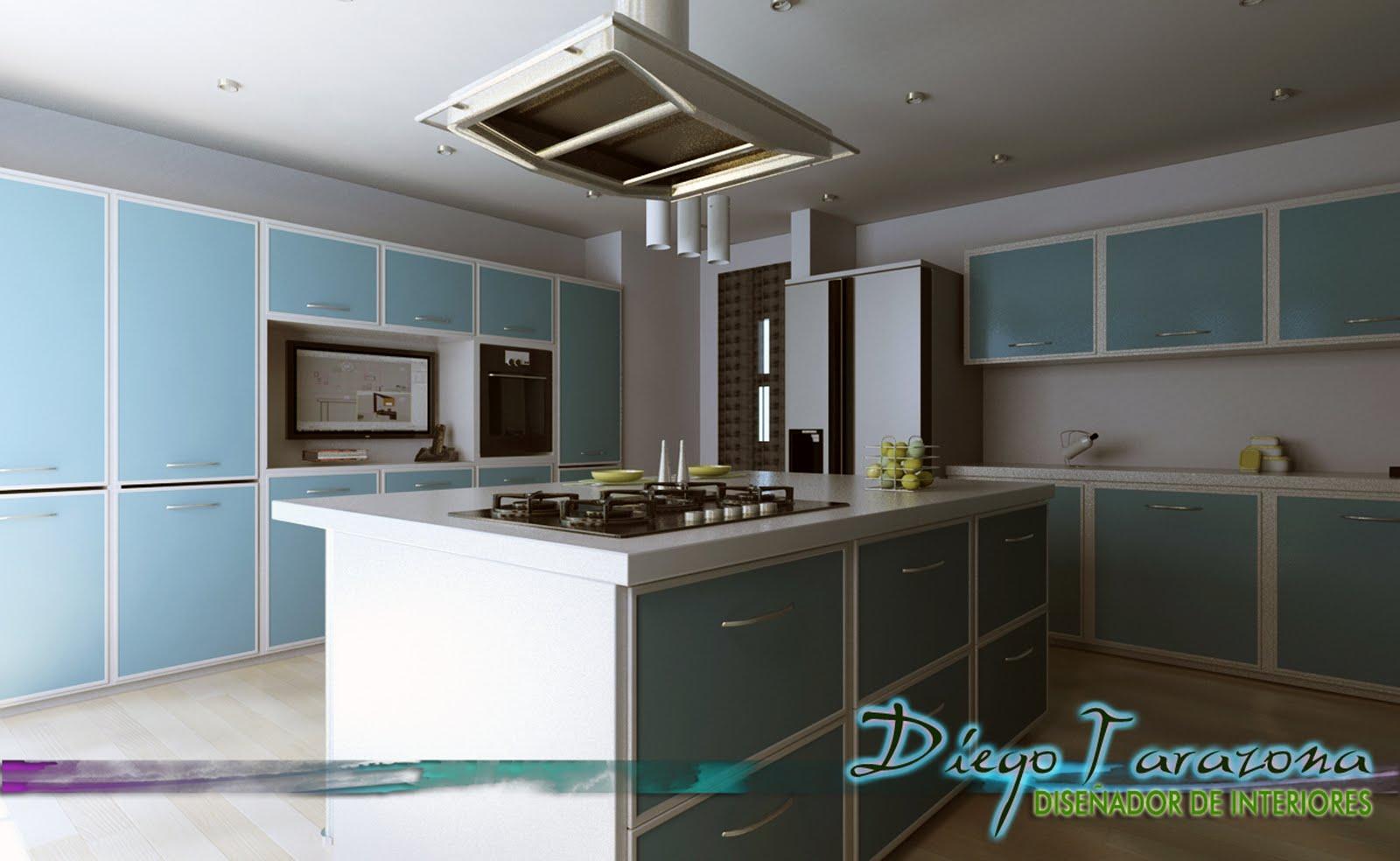 Portafolio diego tarazona dise ador de interiores cocina de receta - Disenador de cocinas ...