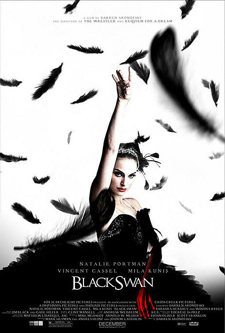 Black Swan Poster. The above poster for Black