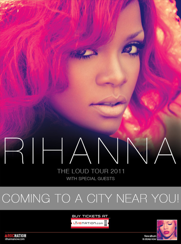 rihanna loud tour tickets. Rihanna Navy USA! Get LOUD I#39;m