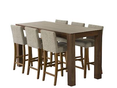 Høyt kjøkkenbord