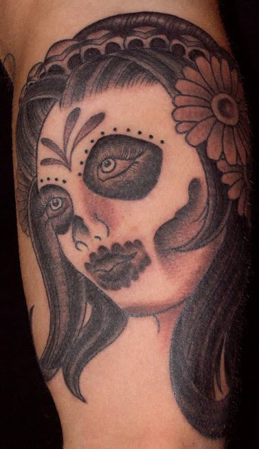 day of dead girl tattoo design. 2011 day of the dead girl by