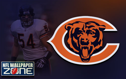 Chicago Bears fans can enjoy this Chicago Bears desktop wallpaper featuring
