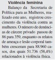 OBSERVATÓRIO DA VIOLÊNCIA DCM - Jornal Boqueirão