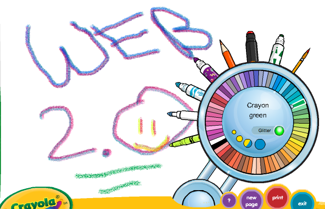 Technology Tidbits: Thoughts of a Cyber Hero: Crayola Digi-Color