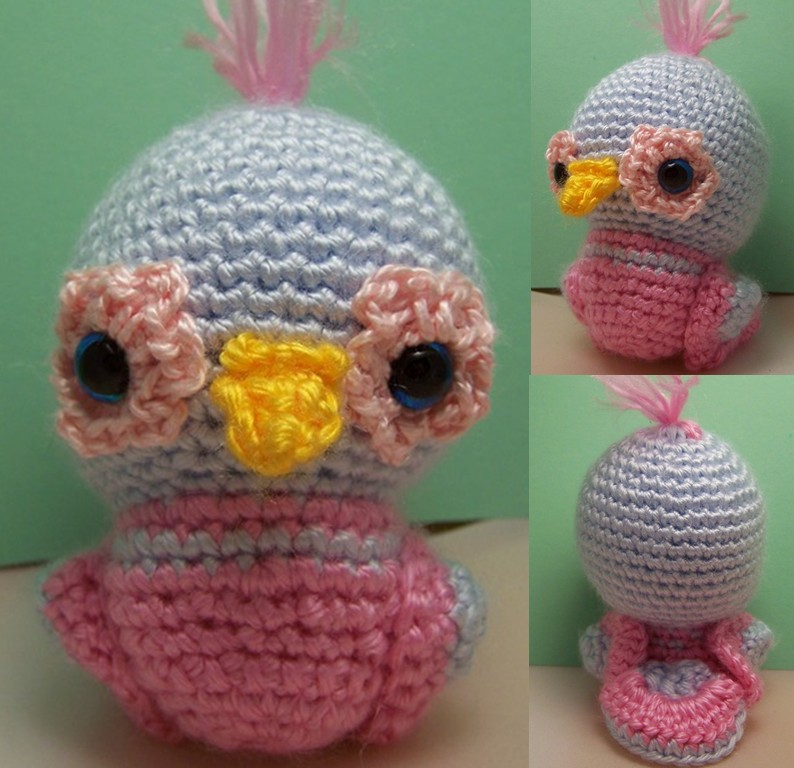 Amigurumi Crochet Bird Patterns : 2000 Free Amigurumi Patterns: Dudley Bird