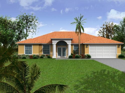 A b developing ideas renders de exteriores casas for Exteriores de casas