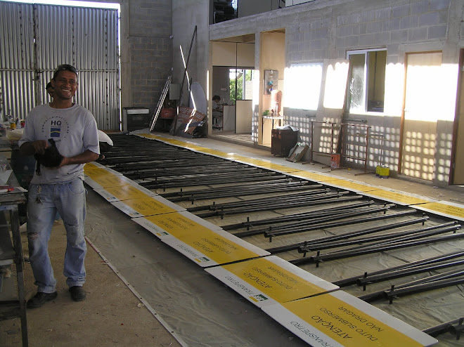 HQ FABRICA AS PLACAS DE SINALIZAÇÃO DO MAIOR GASODUTO DA AMÉRICA LATINA