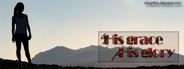 Graphic blog header showing woman looking at mountains