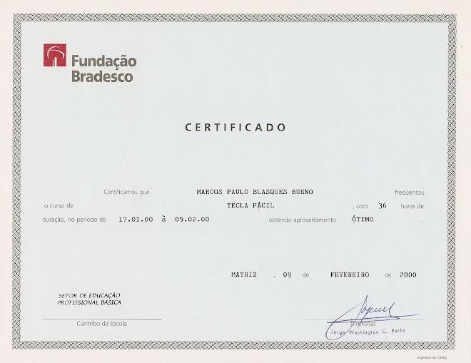 Fundação BRADESCO - Tecla Fácil