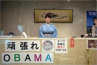 Meja Resepsionis di Hotel Obama