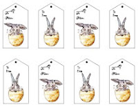 All us all the time happy easter free printable gift tags we just uploaded a set of if we dare say so ourselves adorable free printable easter tags on our free printable gift tag page happy spring negle Images